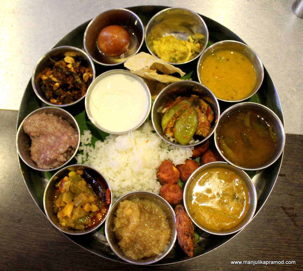 Authentic Andhra thaali