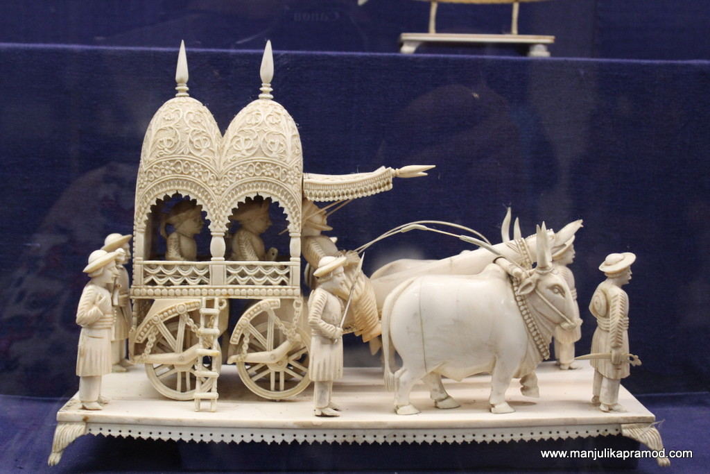 The museum has one of the best ivory artifacts/