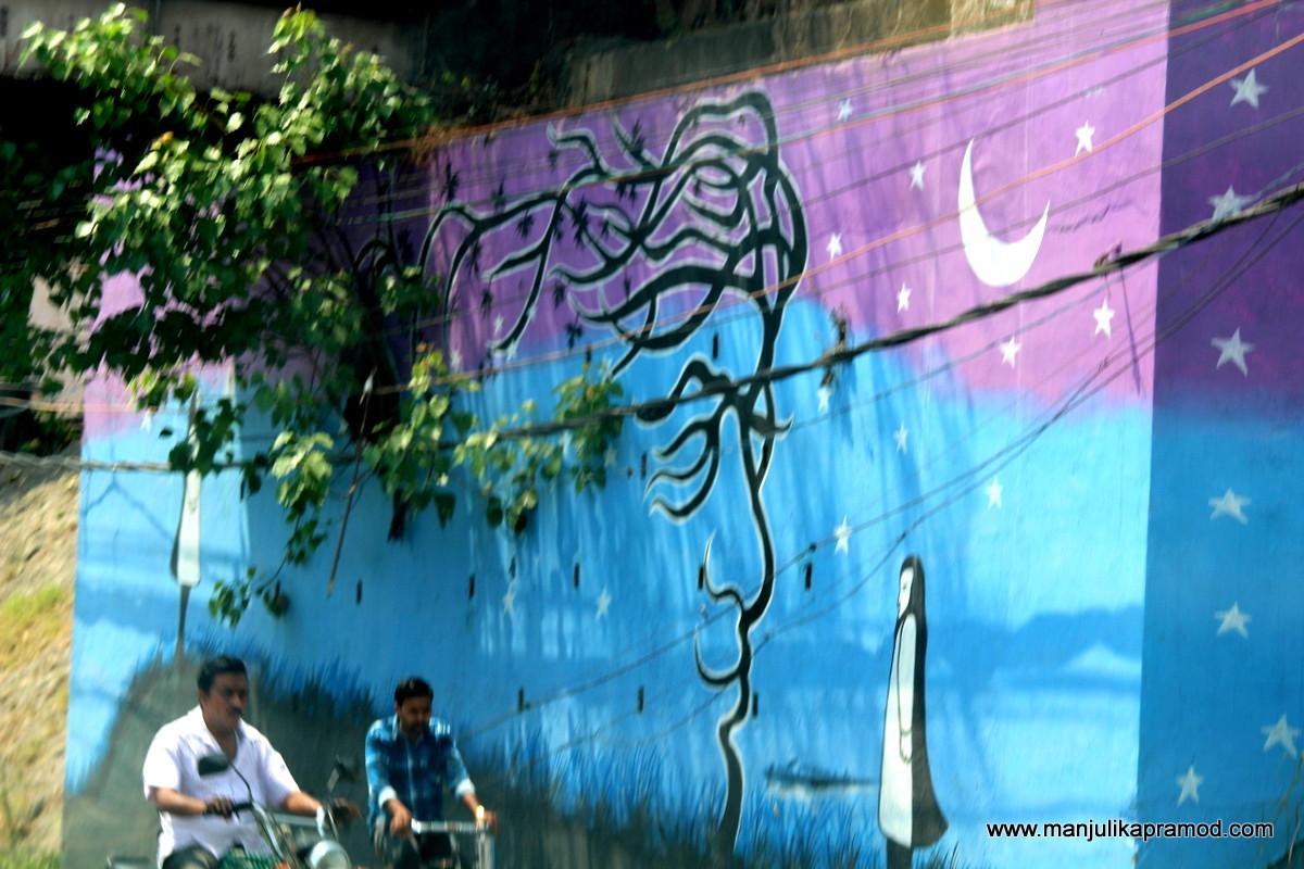Local artists have done great job ib Vijayawada.
