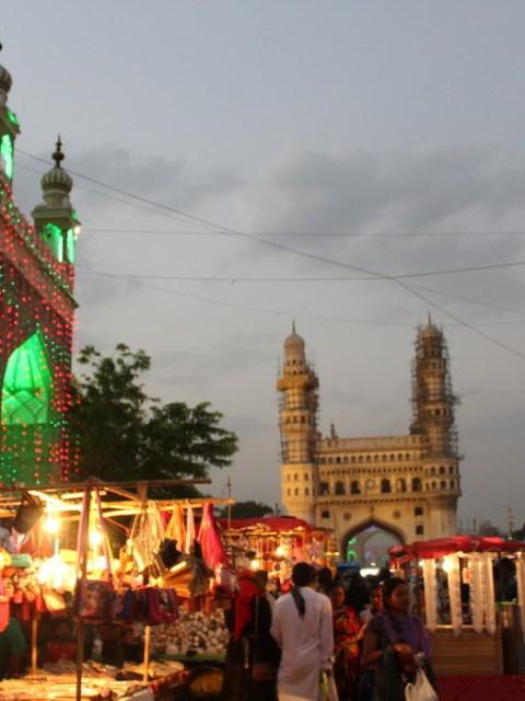 Charminar during Ramadan