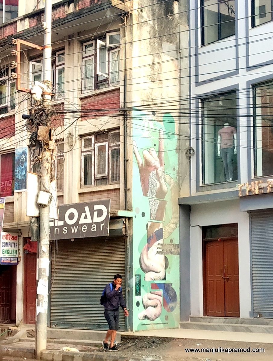 #Nepaliart #Mallperiod #StreetArt #Nepal