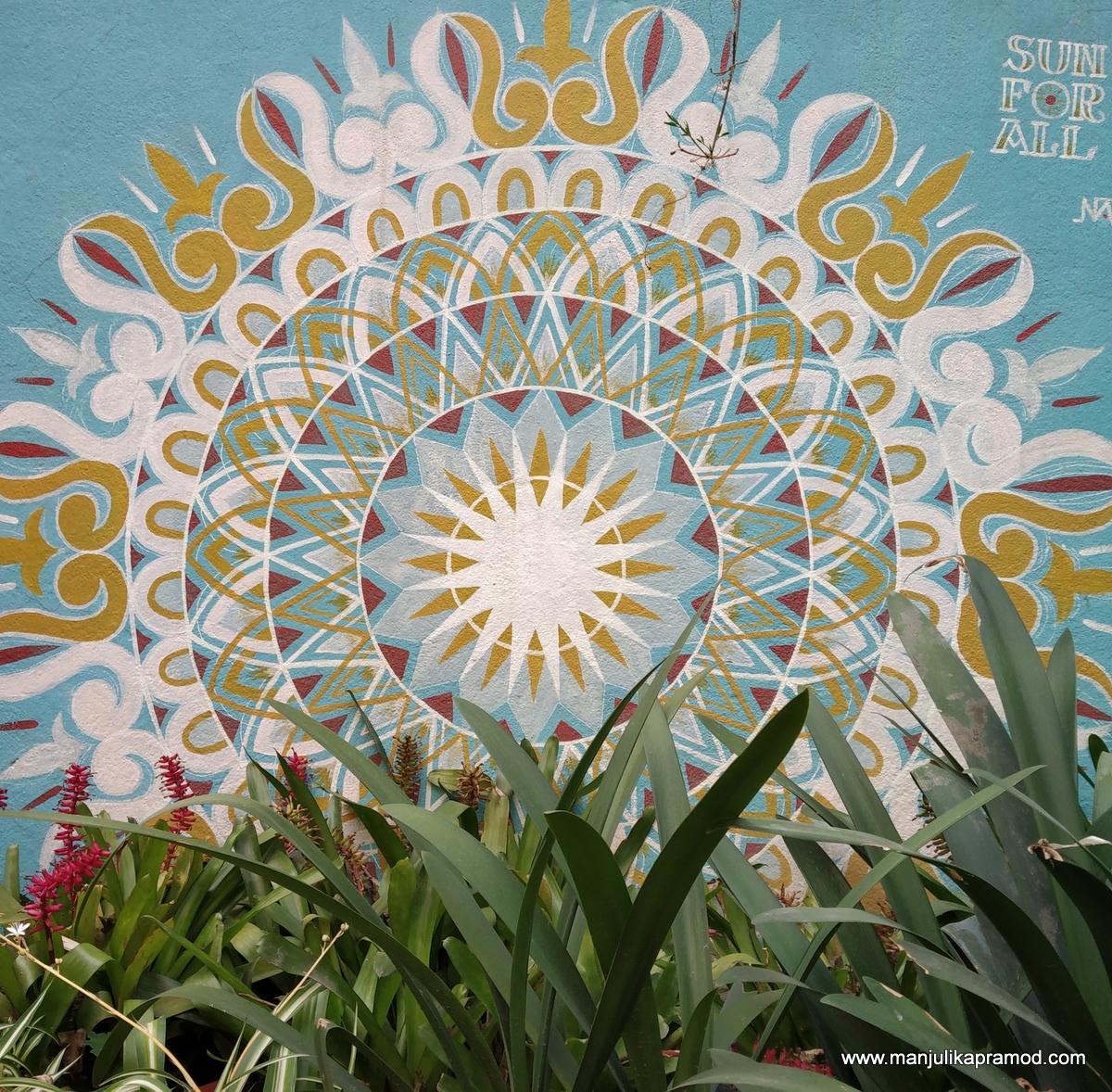 Street  art in Thamel