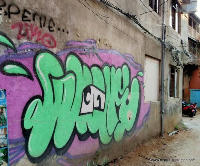#Kathmandu #Streetart #Thamel