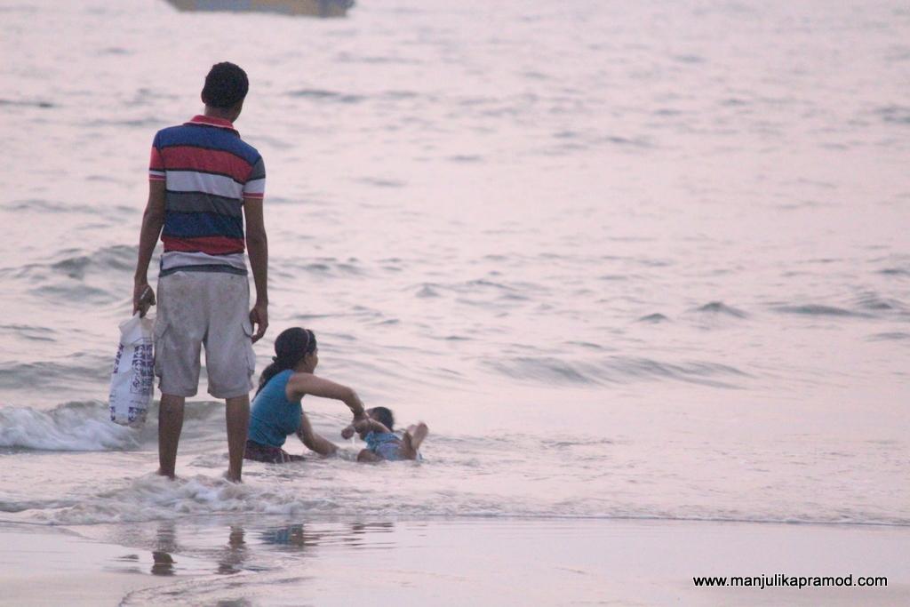 Family trip in Goa