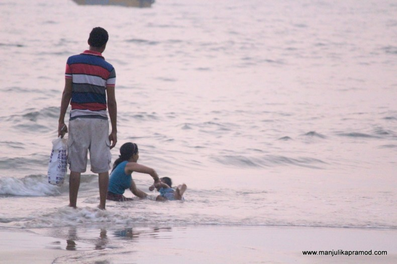 Family trip in Goa
