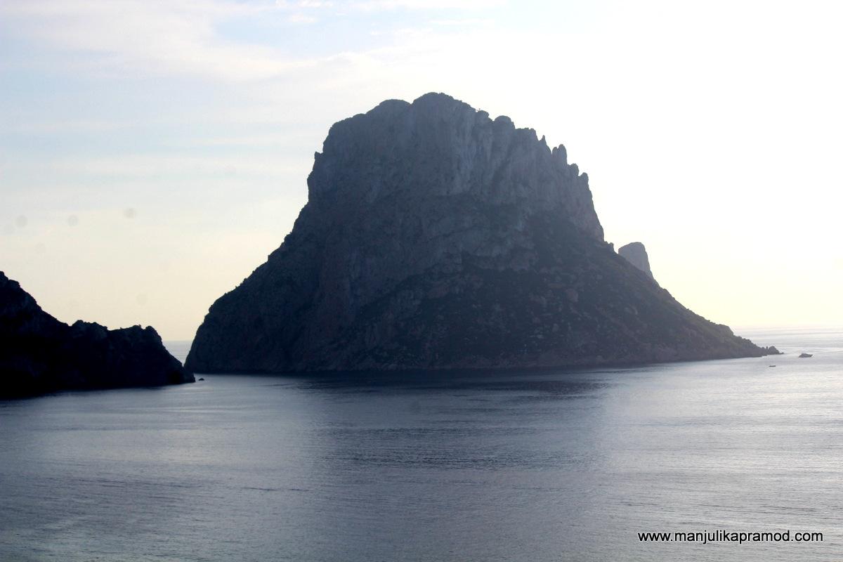 Es Vedra is an islet