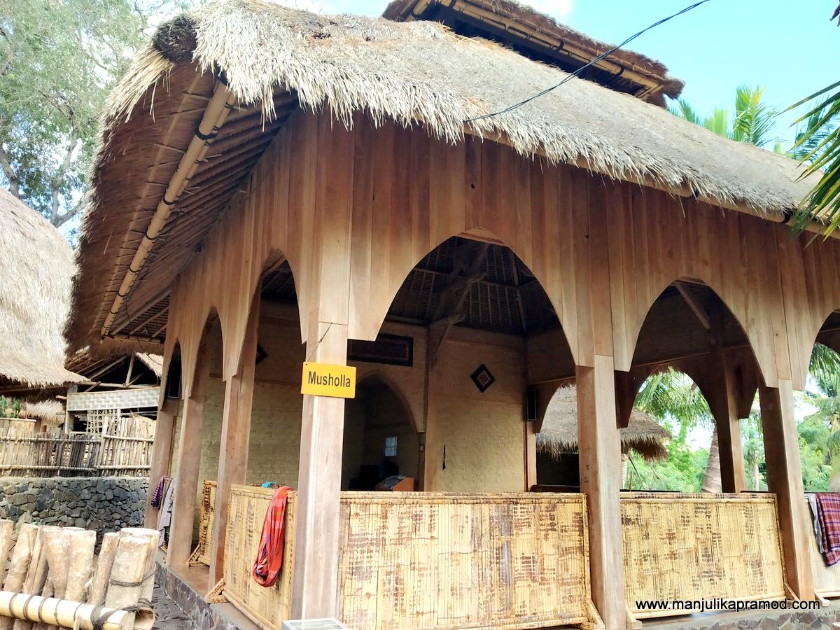 Musholla means prayer room
