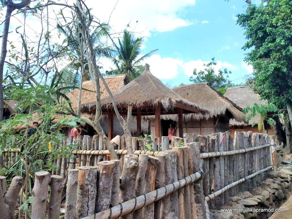 Sasak tribal village