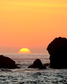 Fascinating sunsets in Bali