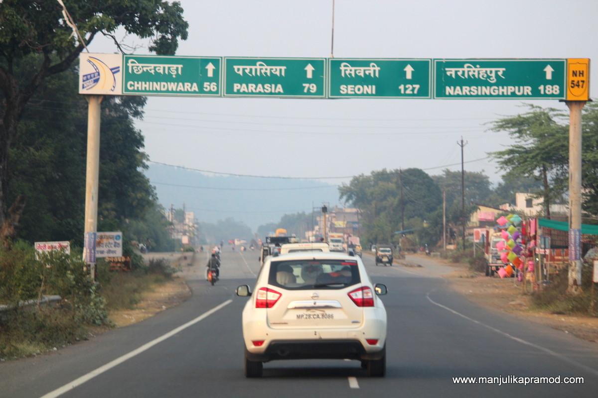 Nagpur to Chhindwara road trip