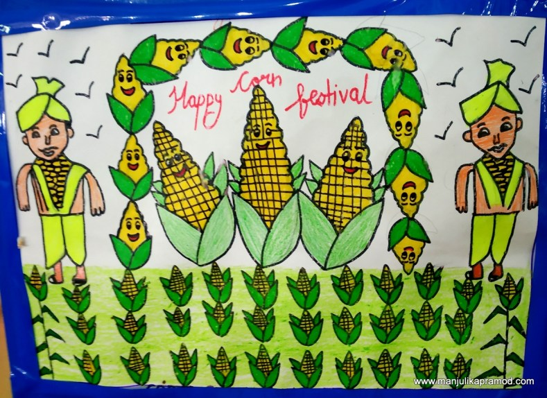 2.7 lakh drawings were made in corn festival 2019