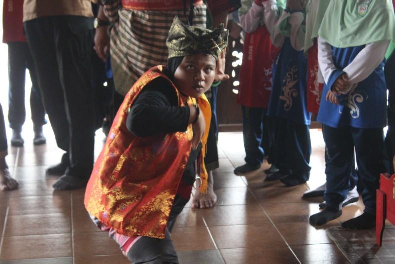 Silat dance at Hang Tuan Museum - Malaysia Trip
