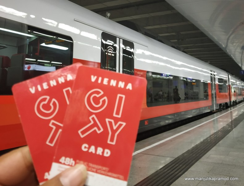 Vienna City Card - Use it in Vienna! It was very useful for my 4 days in Vienna.