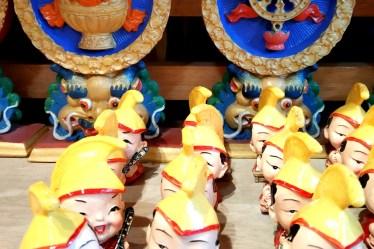 Aruna Nagar colony -Tibetan refugee colony.