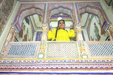 Frescoes in Shekhawati
