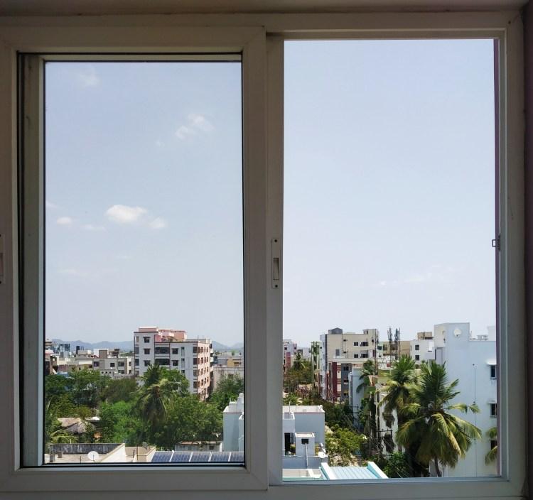 Window view during quarantine