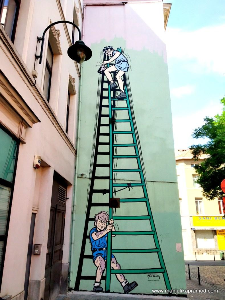 Virtual Street Art Tour of Brussels