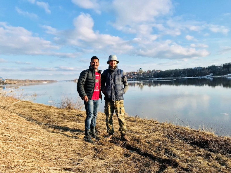 With Anton in Tutayev - Russian Adventure!