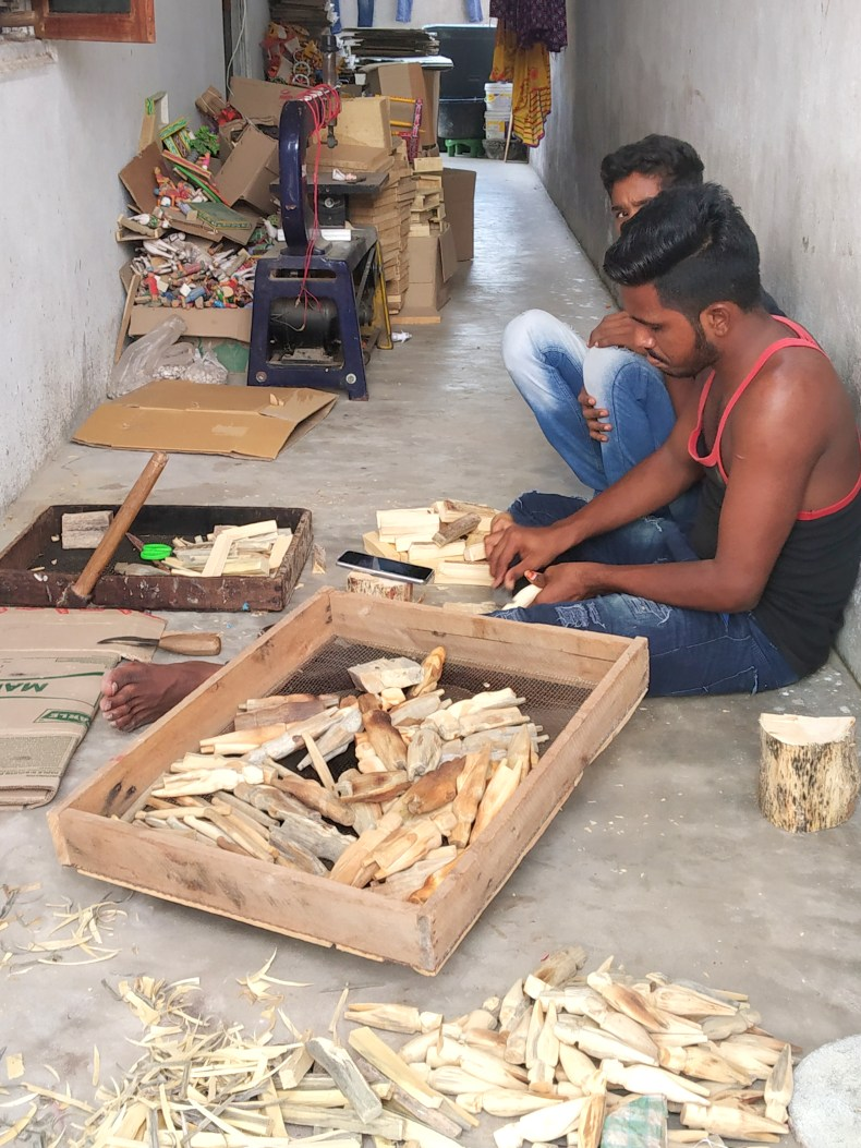 You can meet the toy makers of Kondapalli