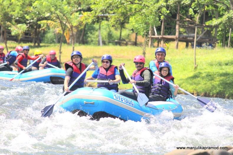 River rafting in Sabah