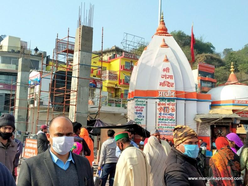 Wearing masks during Kumbh in Haridwar