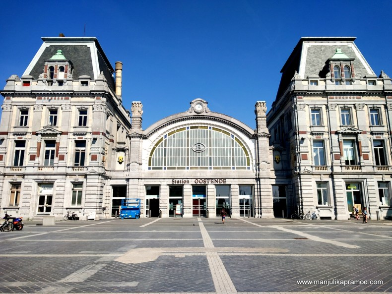 This is how Ostend Station looks like