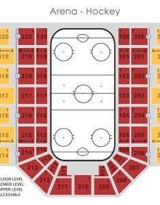 Graphical map arena hockey also seat locator mankato civic center rh mankatociviccenter