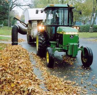 American Road Machinery Leaf Vacuum For Sale