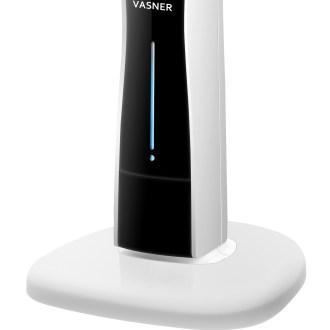 Sockel und Tankanzeige VASNER Cooly Stand-Ventilator mit Ultraschall-Nebel