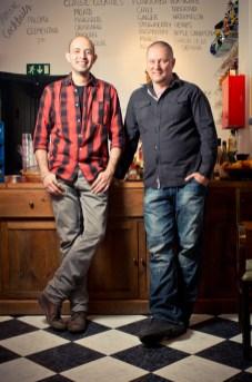 Perustajat Leon Aguilera ja Sami Lappalainen.