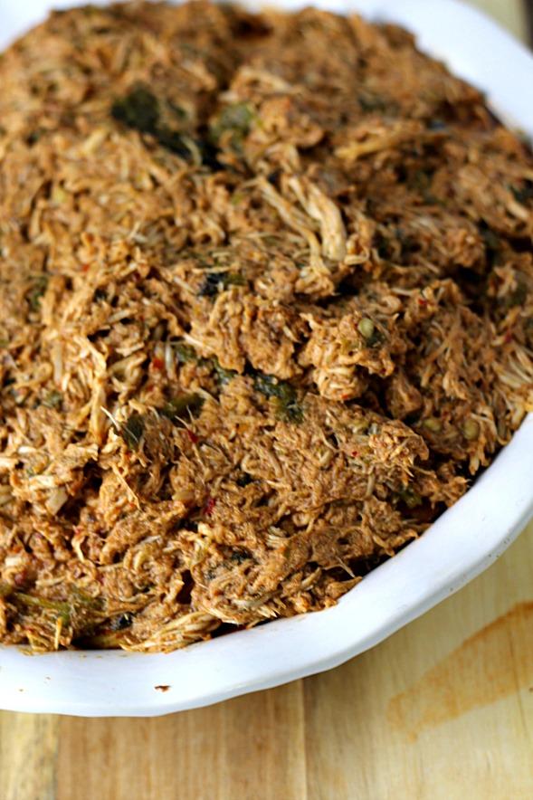 Chicken Tamale Pie www.mannaandspice.com