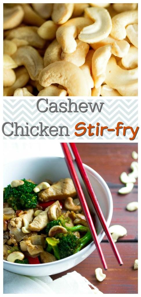 Cashew Chicken Stir-Fry|www.mannaandspice.com