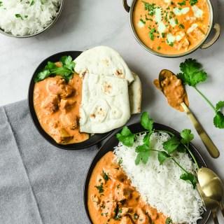 Shortcut Instant Pot Indian Butter Chicken| Manna & Spice