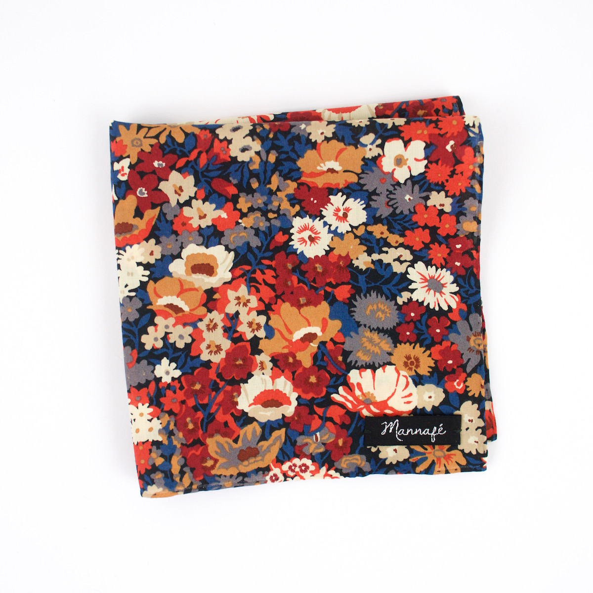 Pochette de costume Liberty Thorpe burnt orange