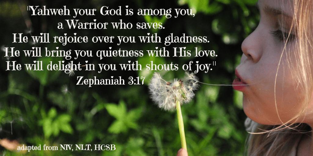 Scriptures Zephaniah 3:17