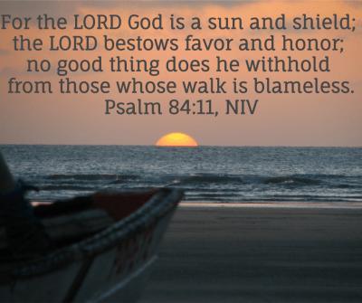 Scriptures Psalm 84:11