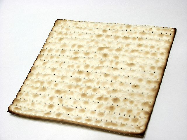 This image has an empty alt attribute; its file name is 640px-Matzoh-0851.jpg