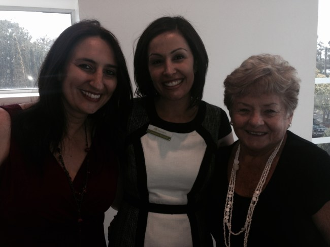 ED Nicole Quirin, BD Manager Catherine Micallef & Silver PD Maureen Forrest