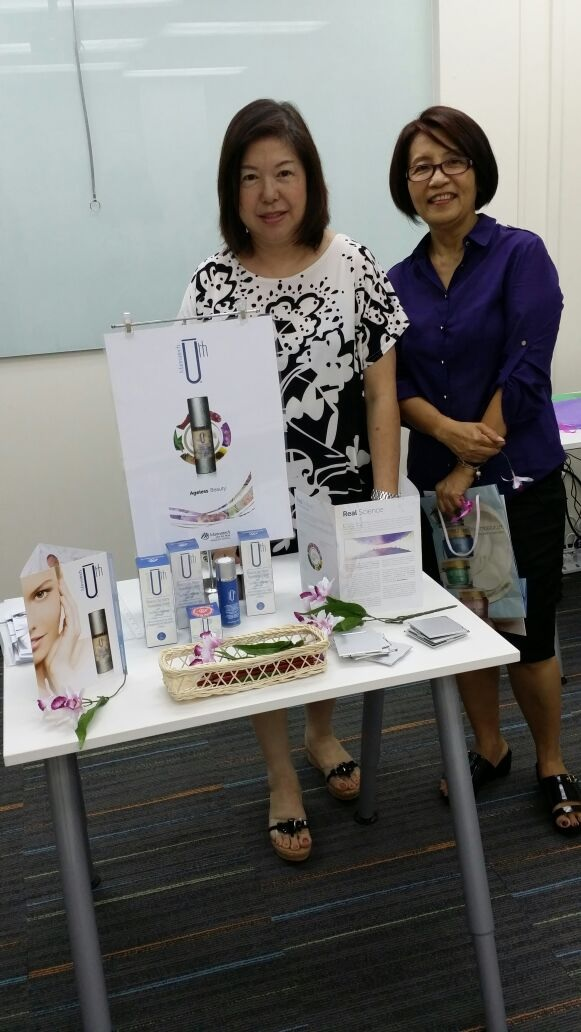 Presidential Director Lydia Leong with National Director Celine Goh