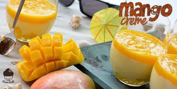 Mango Joghurt Creme  Mann backt