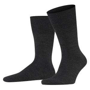 Heren sokken antraciet.