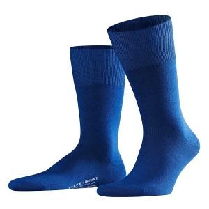 Blauwe Falke airport sokken.