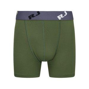 RJ microfiber pure color heren boxershort - Donkergroen