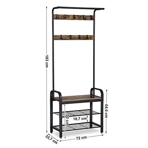 portemanteau vestiaire meuble d entree avec etagere