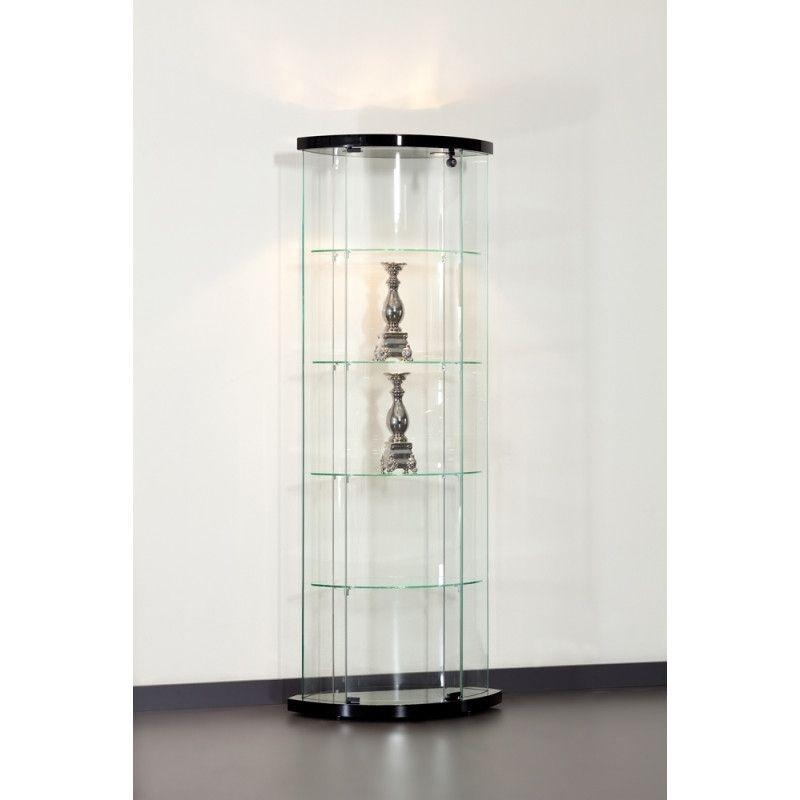 vitrine d angle 64 cm pour magasin