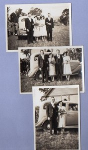 Ann and Sid Rowsell's wedding