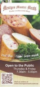 Mentges Meats ad