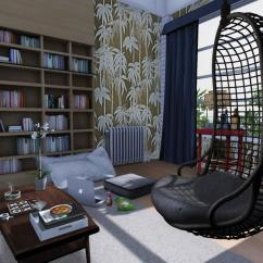 Hanging Chair The Sims 4 Ikea Table And Set Decorating Ideas For Bachelor Homes Choose Well Your Furniture To Suit Needs