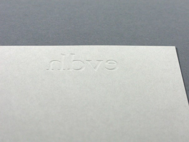 ernst van der hoeven business card detail
