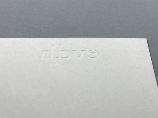 ernst van der hoeven business card detail